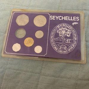 Collectible 1972 &1974 Seychelles Coins